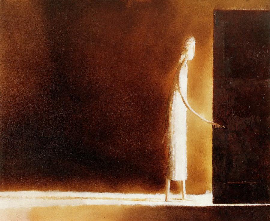 open door painting. The. The Open Door Painting